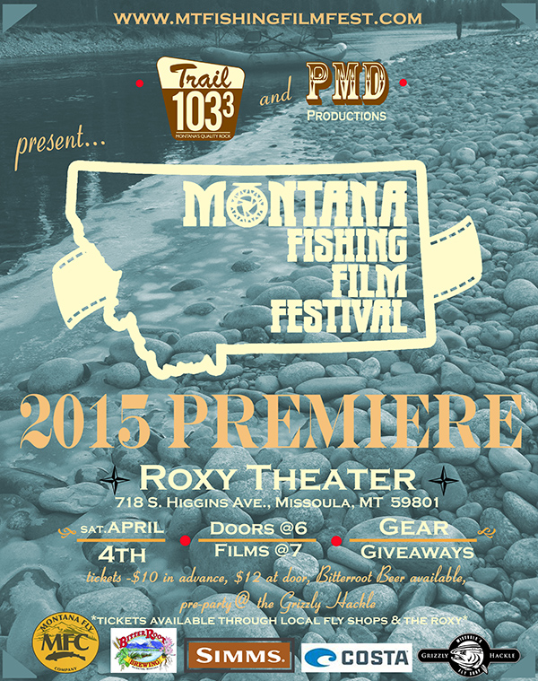 Montana Fishing Film Festival Flyer